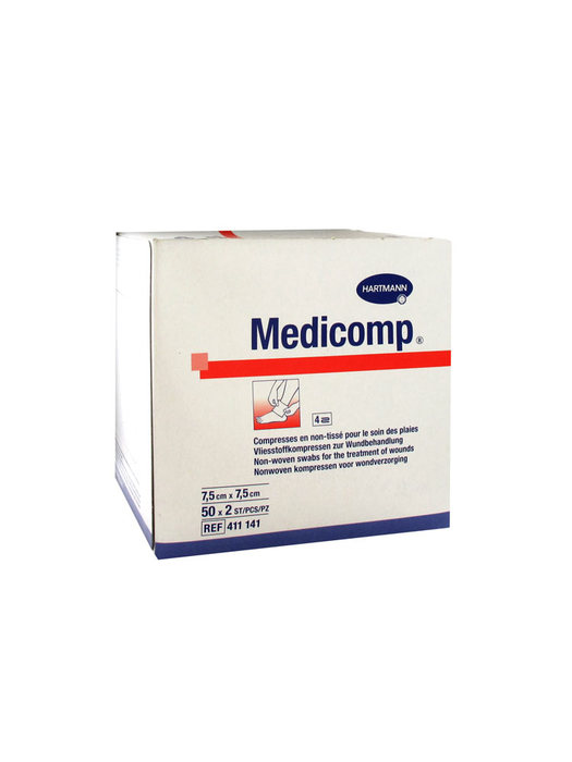 Compr  7.5x7.5 bt 10  n tisse Medicomp-148622
