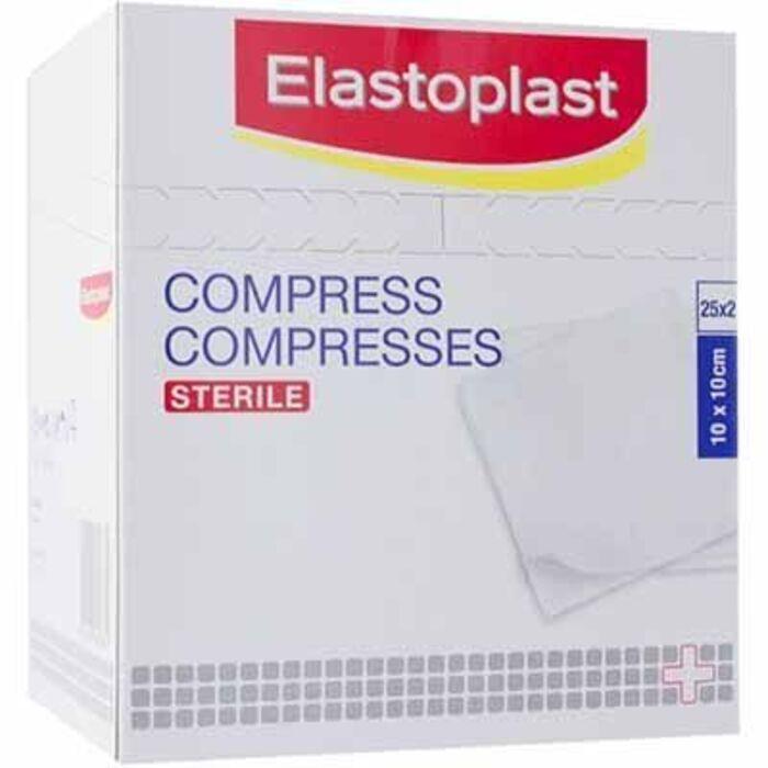 Compresses stériles 10x10cm 50 pièces Elastoplast-224321