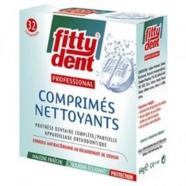 Comprimés nettoyants - fittydent -199249