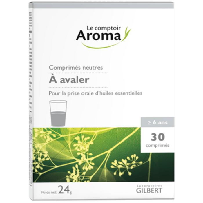 Comprimés neutres 30 comprimés Le comptoir aroma-222050