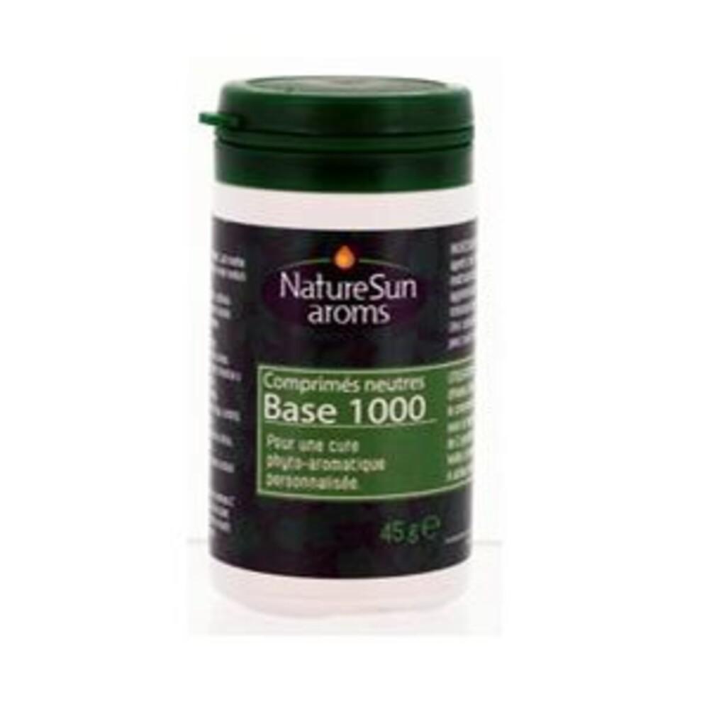 Comprimés neutres à l'usage phyto-aromatique - 45.0 unites - support et émulsifiant - naturesun'arôms -15634