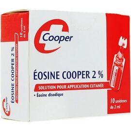 Cooper eosine 2% unidoses 10x2ml - cooper -206839