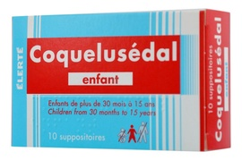 Coquelusedal enfant - 10 suppositoires - laboratoire elerte -192741