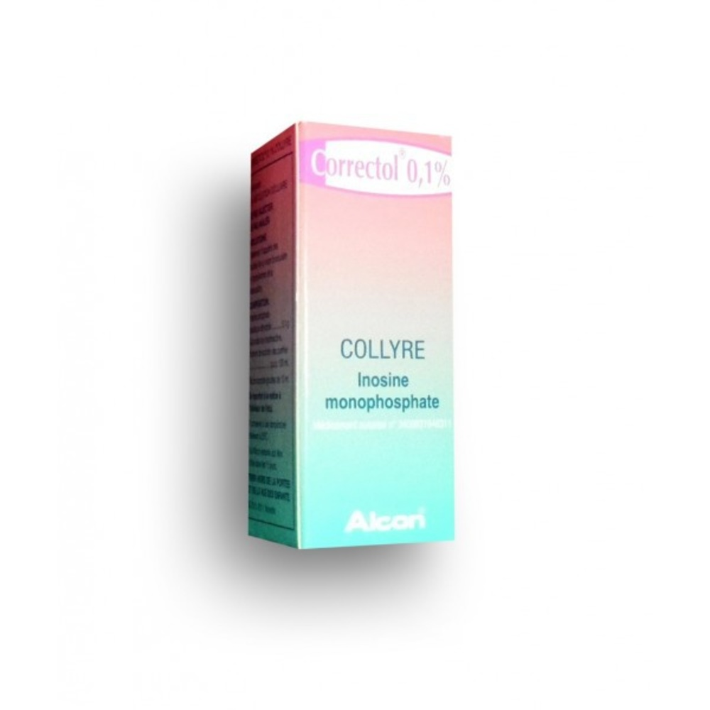 Correctol 0,1% collyre - 10.0 ml - laboratoires alcon -193029