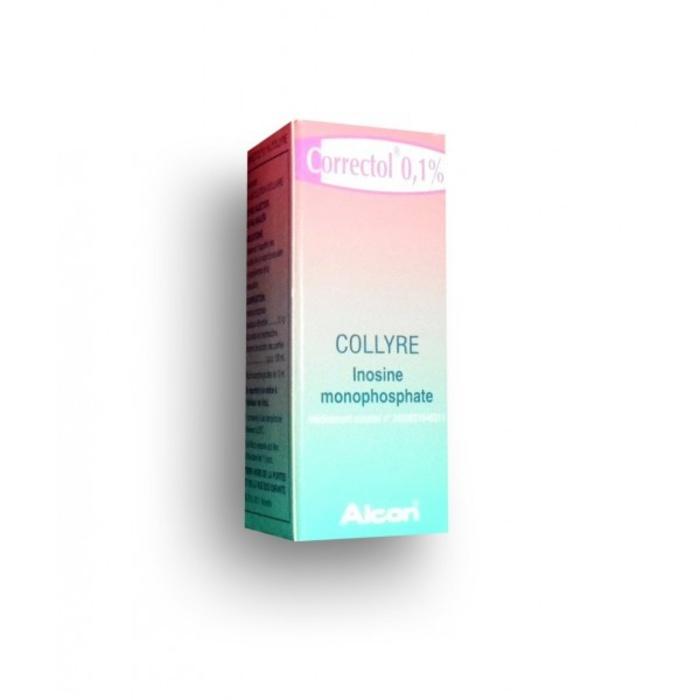 Correctol 0,1% collyre Laboratoires alcon-193029