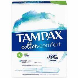 Cotton comfort super x16 - 16.0 u - tampax -225251