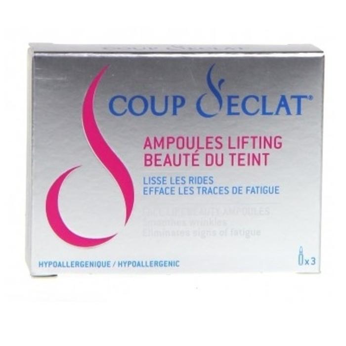 Coup d'eclat ampoules lifting immédiat x3 Coup eclat-120530