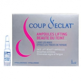 Coup d'eclat ampoules lifting x12 - coup eclat -120529