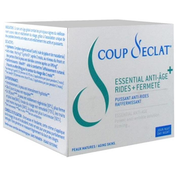 Coup d'eclat crème essential anti-âge rides & fermeté- 50ml Coup eclat-206129