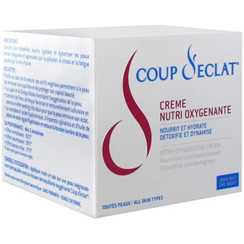 Coup d'eclat crème nutri-oxygénante jour/nuit - 50 ml - coup eclat -120522
