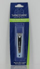 Coupe-ongles manucure avec récupérateur - soins pédicure et manucure - sanodiane -5661