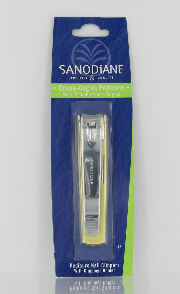Coupe-ongles pédicure avec récupérateur - soins pédicure et manucure - sanodiane -5663