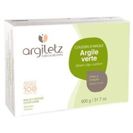 Coussin d'argile verte cataplasmes - 36.0 unites - argile prête à l'emploi - argiletz Défatigant musculaire-7436