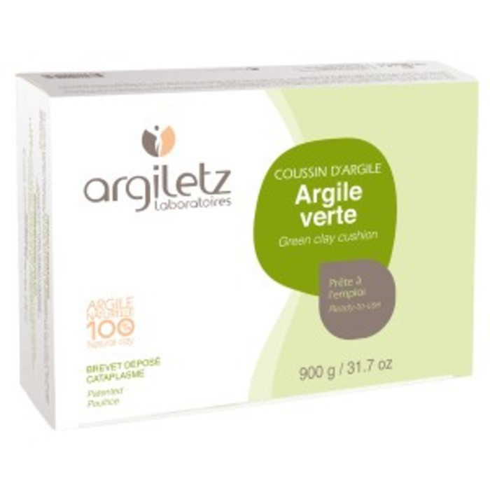 Coussin d'argile verte cataplasmes Argiletz-7436