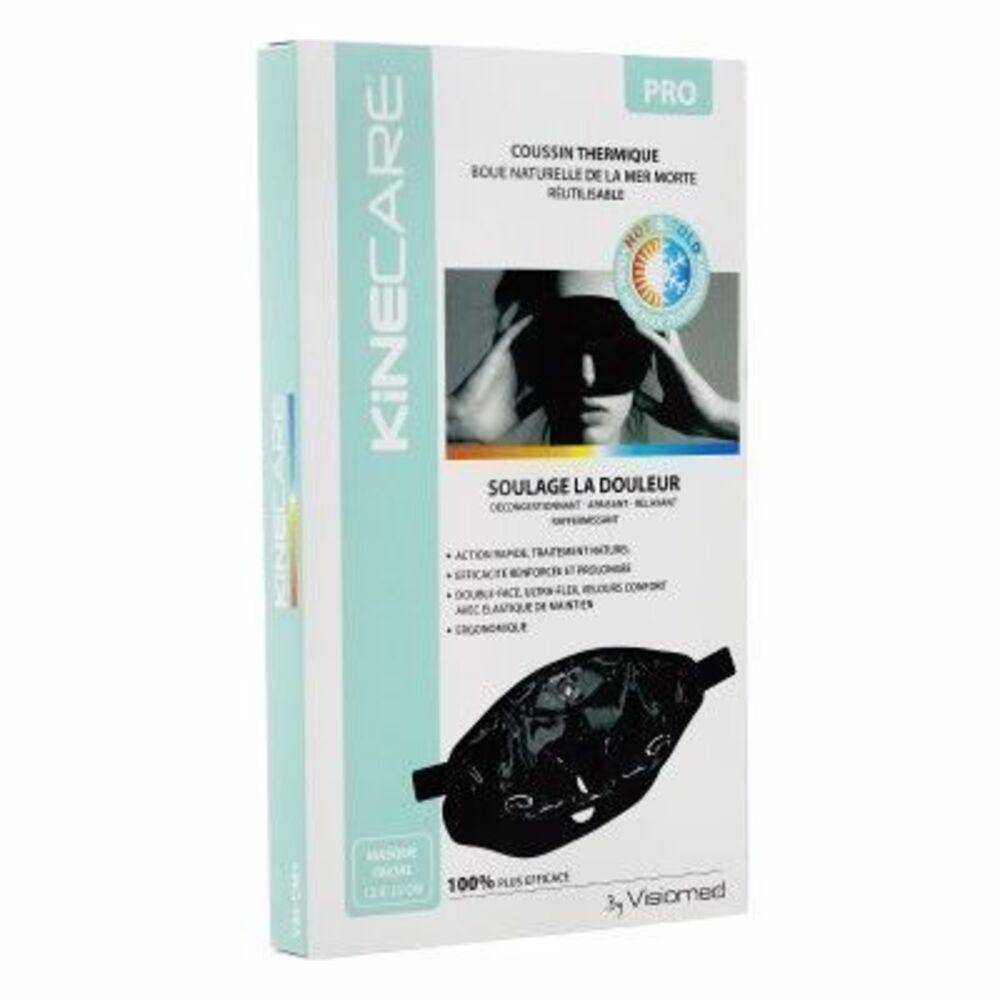 Coussin Thermique Boue Mer Morte Masque Facial 13x33cm - Kinecare -216448