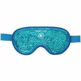 Coussin thermique masque oculaire 10x20cm turquoise - kinecare -216458