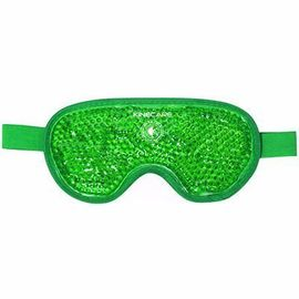 Coussin thermique masque oculaire 10x20cm vert - kinecare -216459