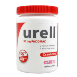 Cranberry 60 gélules - urell -215479