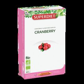 Cranberry bio - 20.0 unites - bien être féminin - super diet Confort urinaire-4437