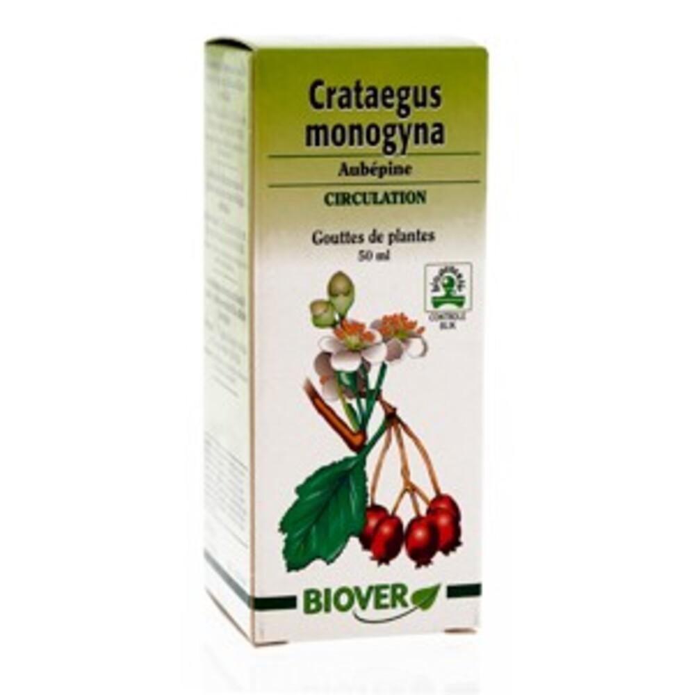 Crataegus monogyna (aubépine) bio - 50.0 ml - gouttes de plantes - teintures mères - biover Contre la fatigue-8957
