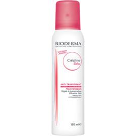 Créaline déodorant aérosol - 150.0 ml - créaline peaux sensibles - bioderma Efficacité 24h, sans alcool-7205