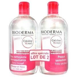 Créaline ts h2o 2x - 500.0 ml - créaline peaux sensibles - bioderma -138687