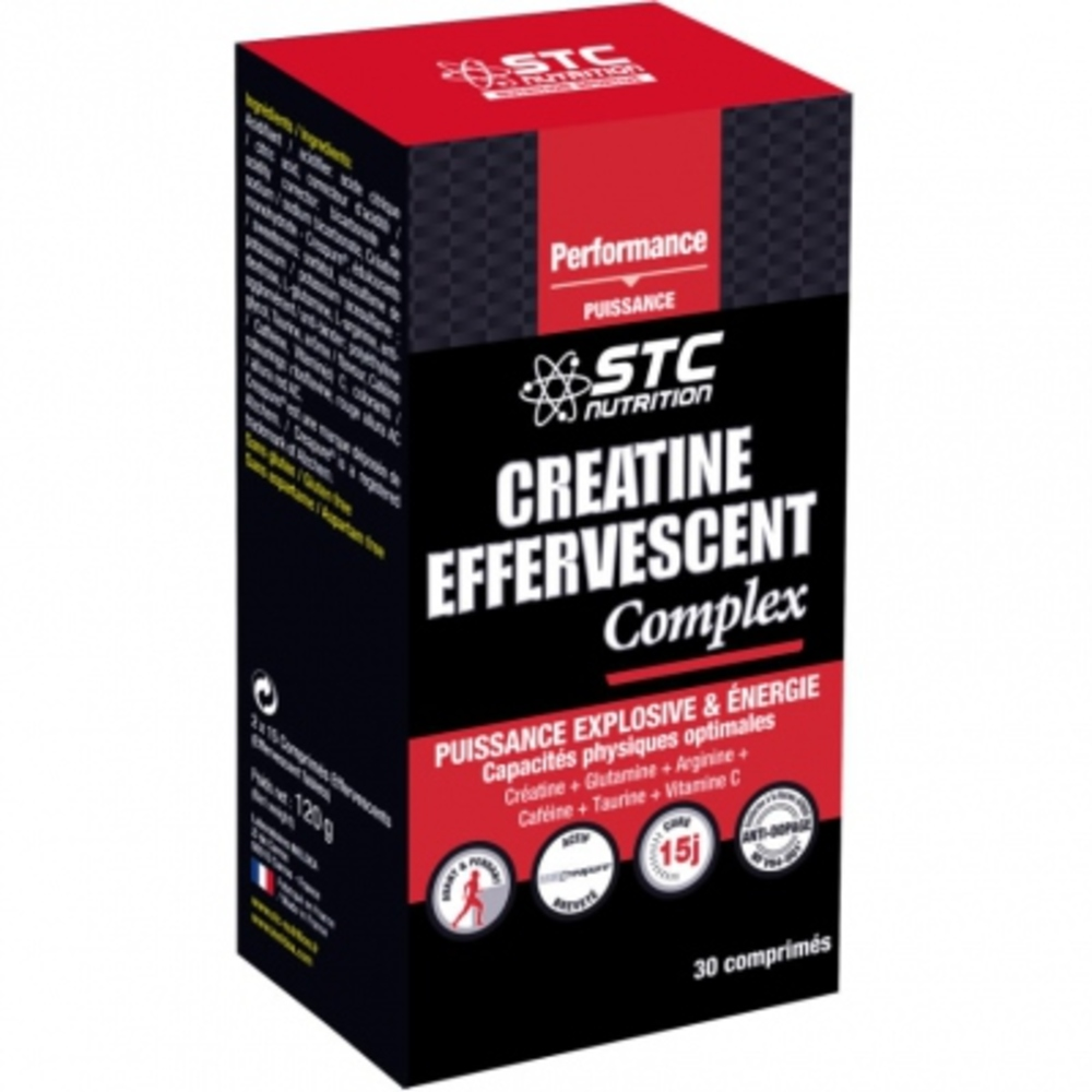 Créatine effervescent complex - stc nutrition -195999