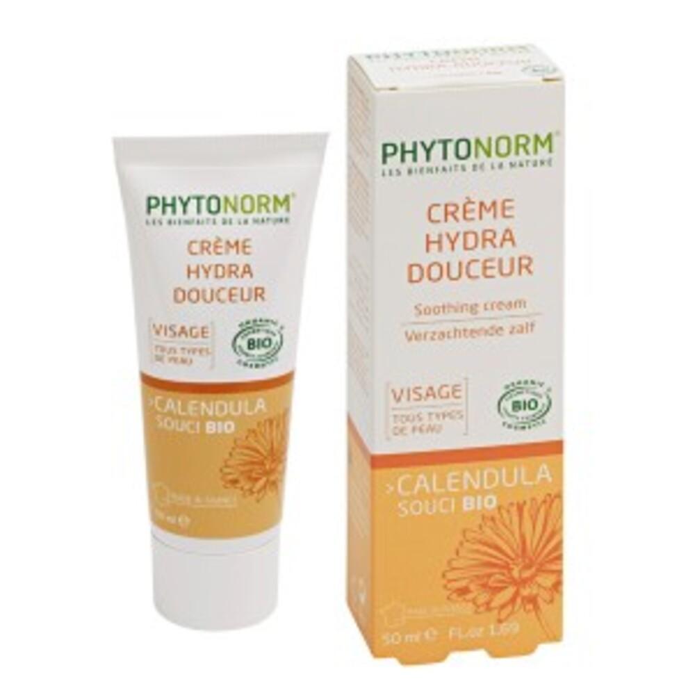 Crème au souci bio - 50.0 ml - hygiène et soin au souci - phytonorm -14708
