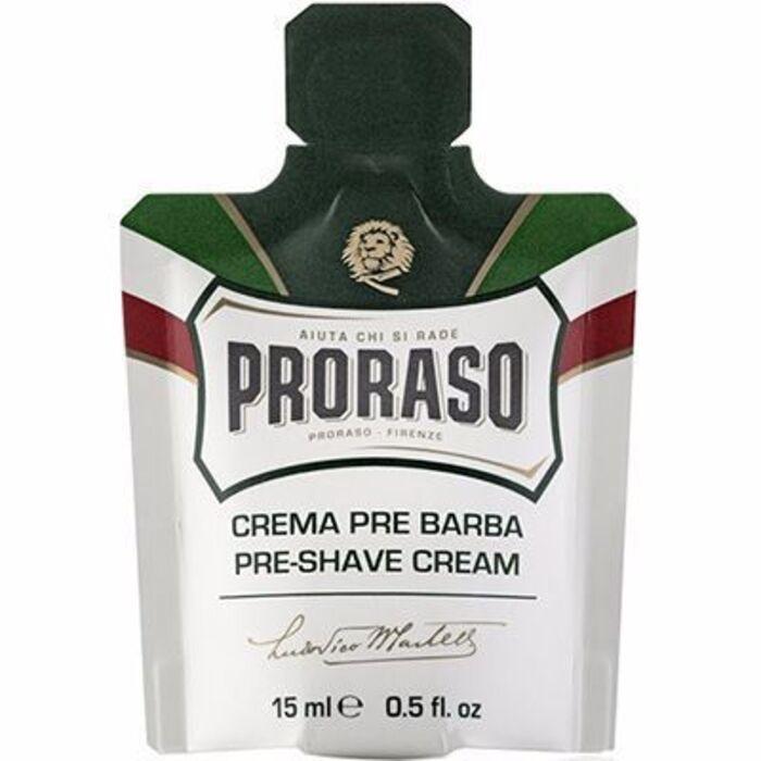 Crème avant rasage de voyage 15ml Proraso-215180