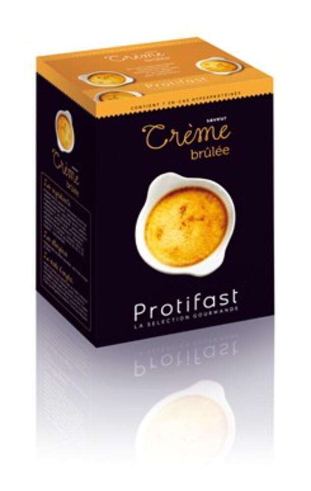Creme brulee x7 - en-cas hyperprotéiné - protifast -191191