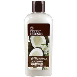 Crème capillaire boucles souples noix de coco 190ml - desert essence -221530