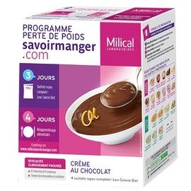 Crème chocolat - 4 sachets - milical -204862