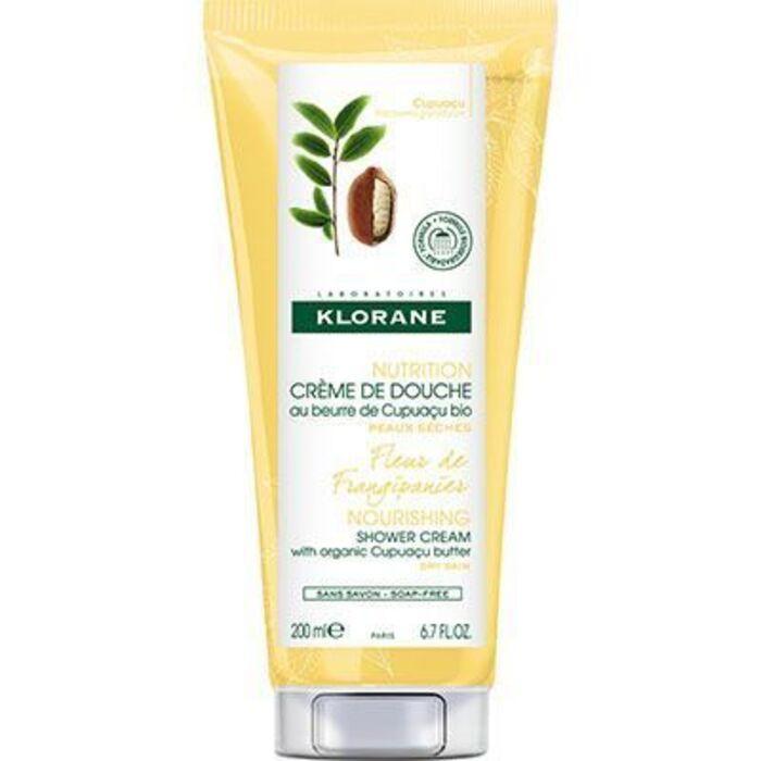 Crème de douche fleur de frangipanier 200ml Klorane-221806