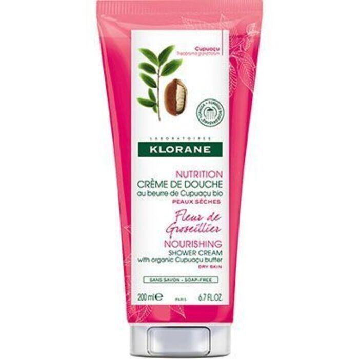 Crème de douche fleur de groseillier Klorane-221801
