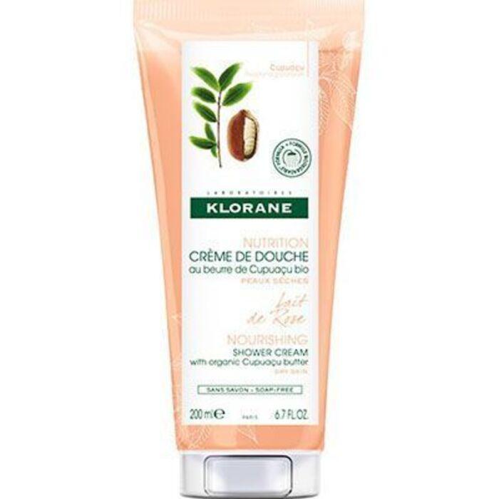 Crème de douche fleur de rose 200ml Klorane-221817