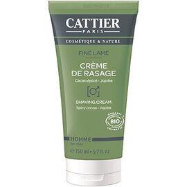 Crème de rasage homme bio - 150.0 ml - homme - cattier -141870