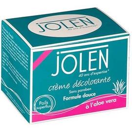 Crème décolorante à l'aloe vera - 125ml - jolen -200478