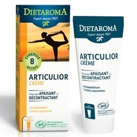 Crème décontractante articulor bio - 100.0 ml - soins bio phyto-aromâtiques - diétaroma Détente et souplesse des articulations-6449