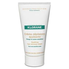 Crème dépilatoire apaisante à l'amande douce 75ml - klorane -203660