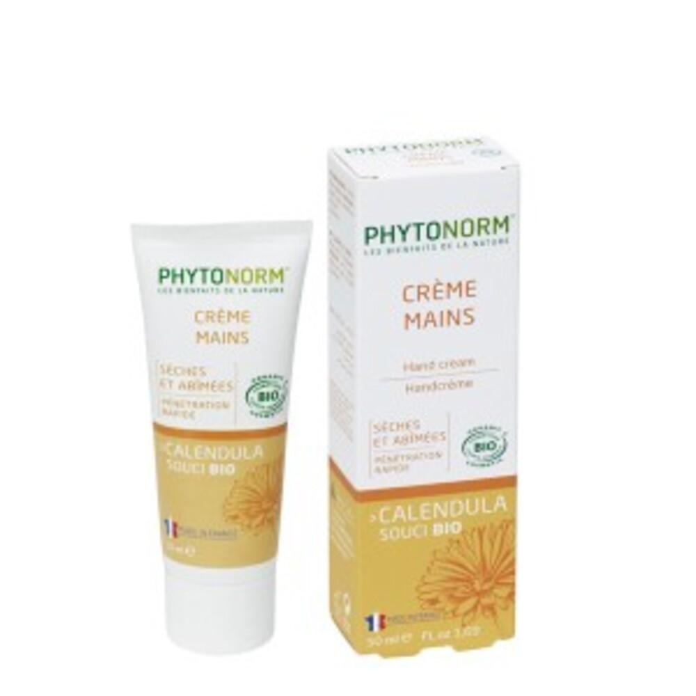 Crème douceur mains bio - 50.0 ml - hygiène et soin au souci - phytonorm -14709