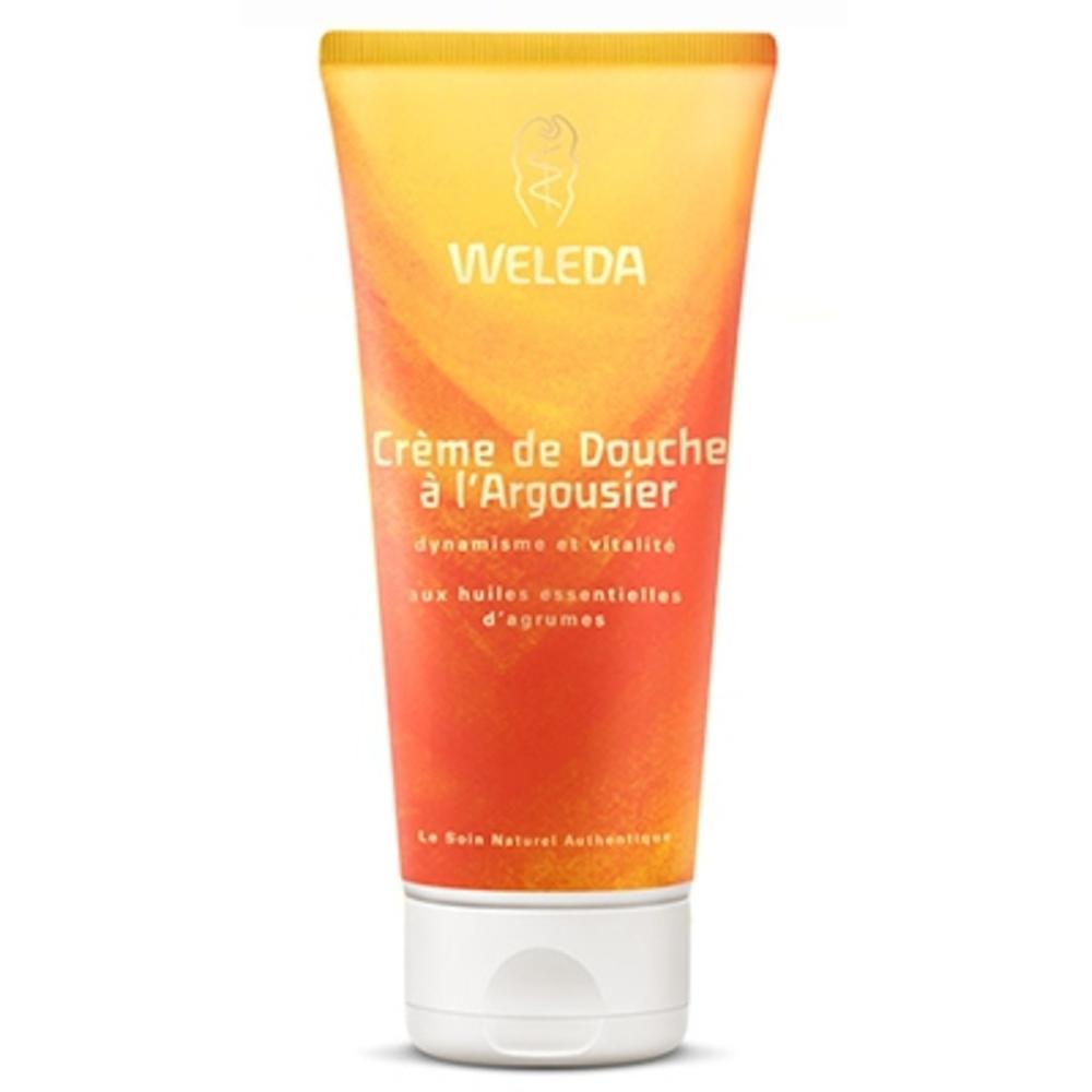 Crème douche à l'argousier - 200.0 ml - hygiène - weleda Dynamisme et vitalité-4413