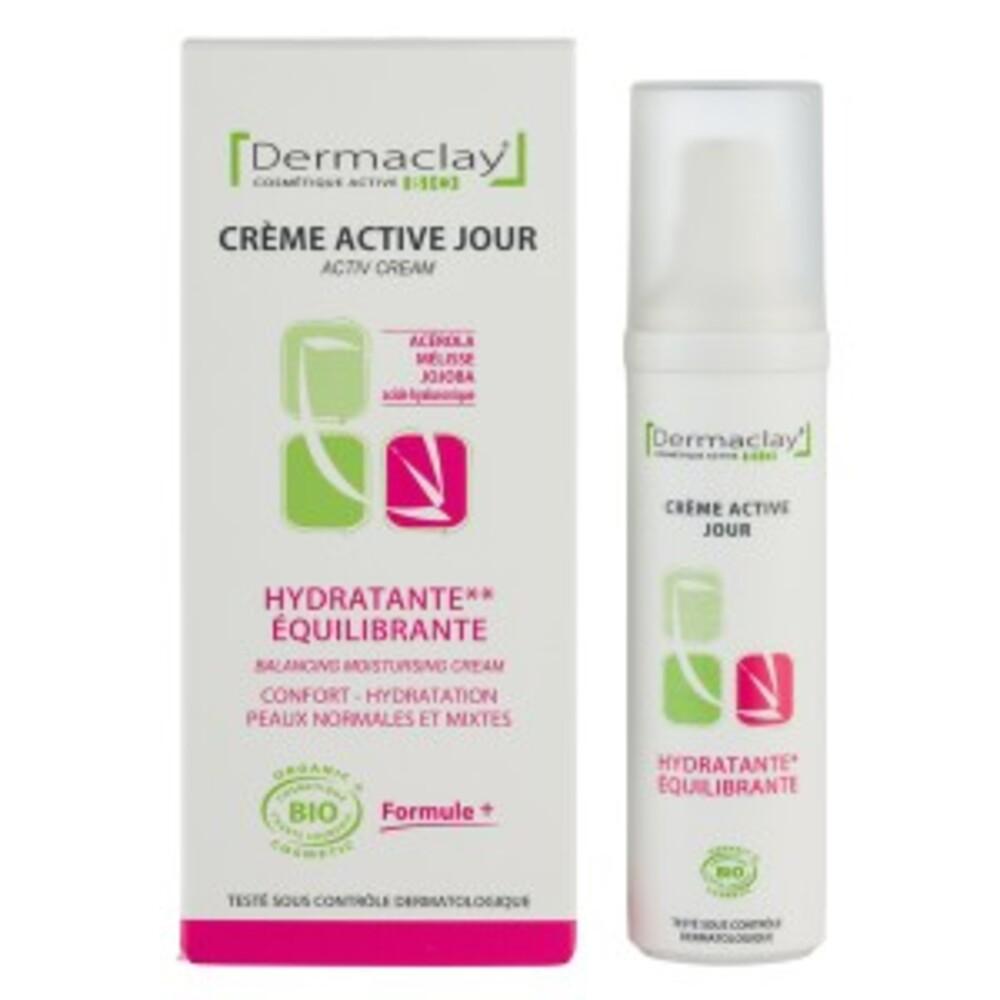 Crème jour hydratante equilibrante - 50.0 ml - les crèmes de jour et de nuit - dermaclay Hydratante - équilibrante-6052