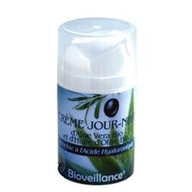 Crème jour - nuit d'aloe vera et d'huile d'olive... - divers - bioveillance -134356