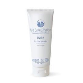 Crème lavante corps et cheveux bio - 200 ml - divers - les ânes d'autan -136724