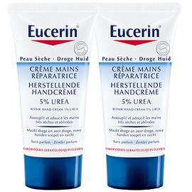 Crème mains 5% d'urée - lot de 2 - eucerin -195315