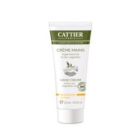 Crème mains bio - 75.0 ml - hygiène corps - cattier Hydrate, nourrit et répare-1494