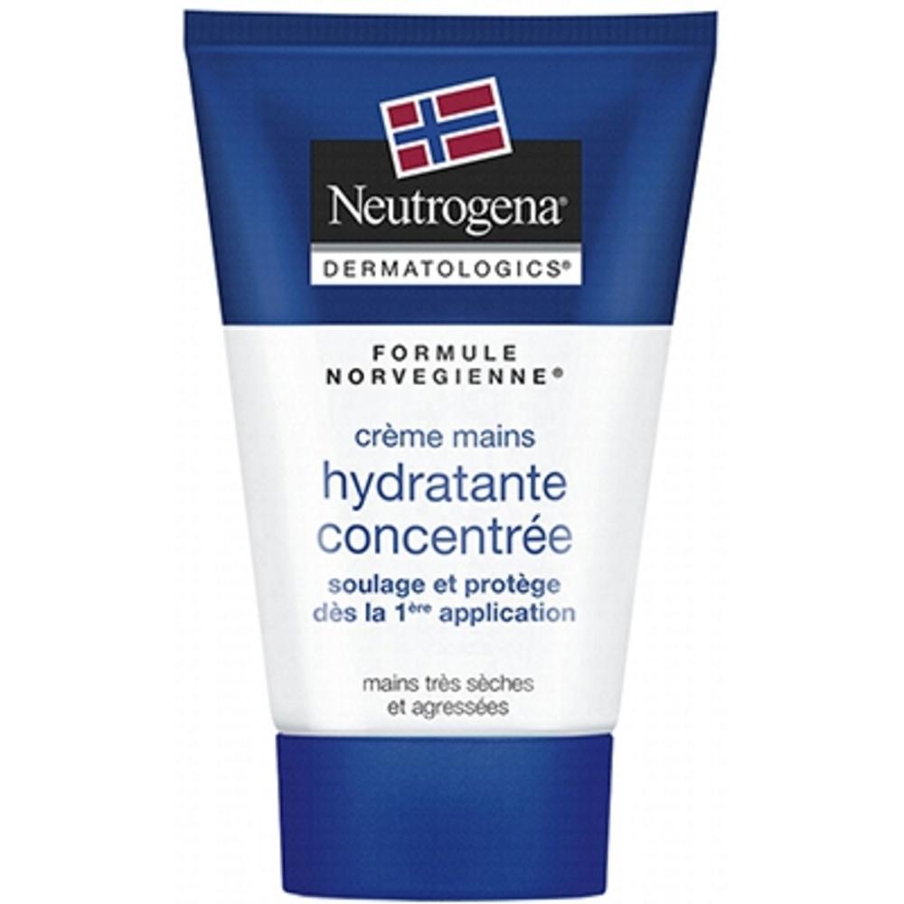 Crème mains concentrée parfumée - 50.0 ml - mains - neutrogena Soulage les mains sèches et abîmées-3061