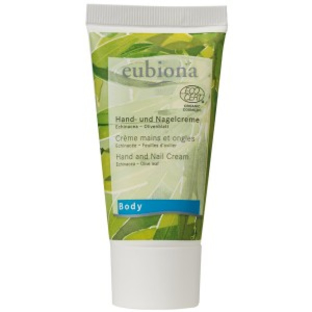 Crème mains et ongles echinacéa olivier bio - 50.0 ml - eubiona face bio - eubiona -14436
