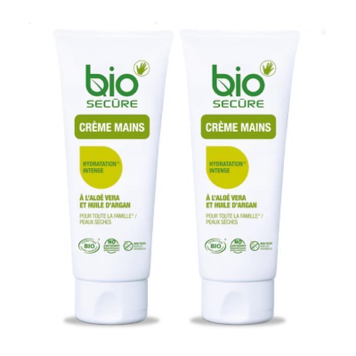 Crème mains lot de 2 x 50ml Bio secure-200936