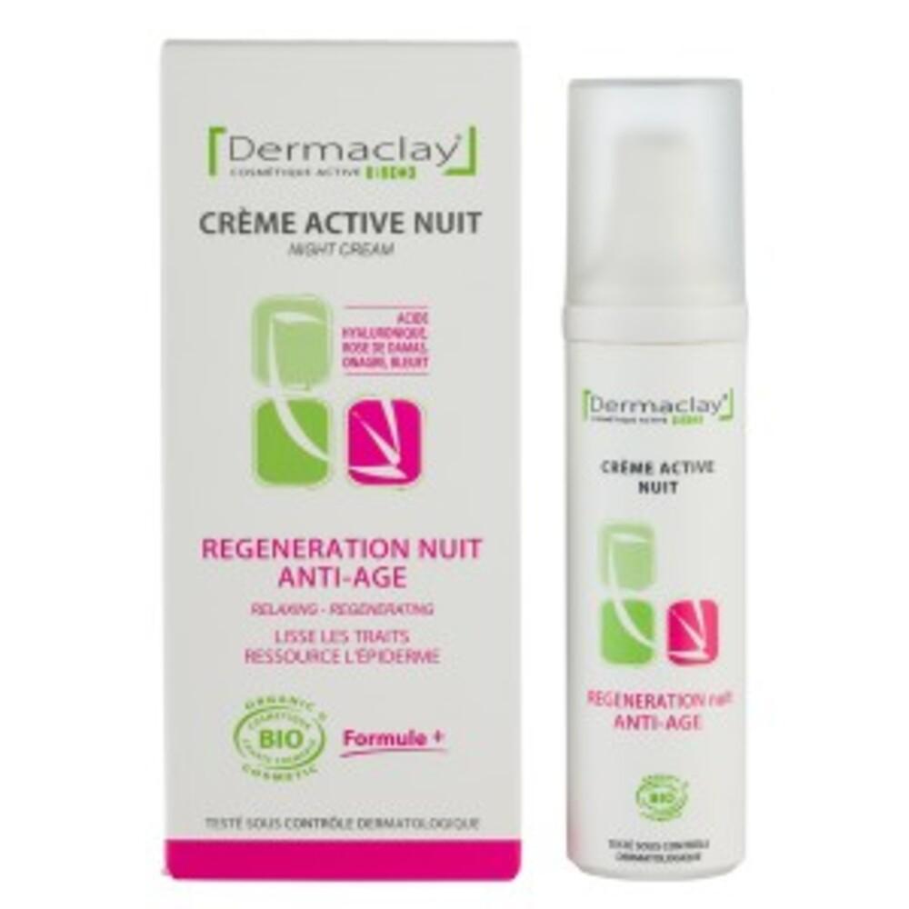 Crème nuit régénération nuit - 50.0 ml - les crèmes de jour et de nuit - dermaclay Relaxante - régénérante-6055